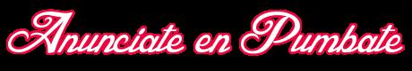 Anunciate en Pumbate.com